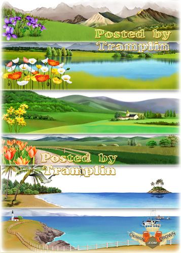 Landscapes Photoshop PSD Files