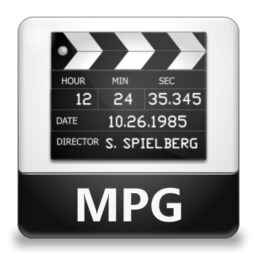 13 MPG File Icon PNG Images