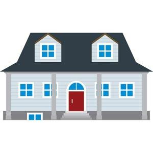 13 Simple Building Vector Images - Simple House Clip Art ...