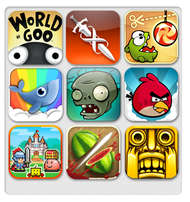 Popular Game App Icons