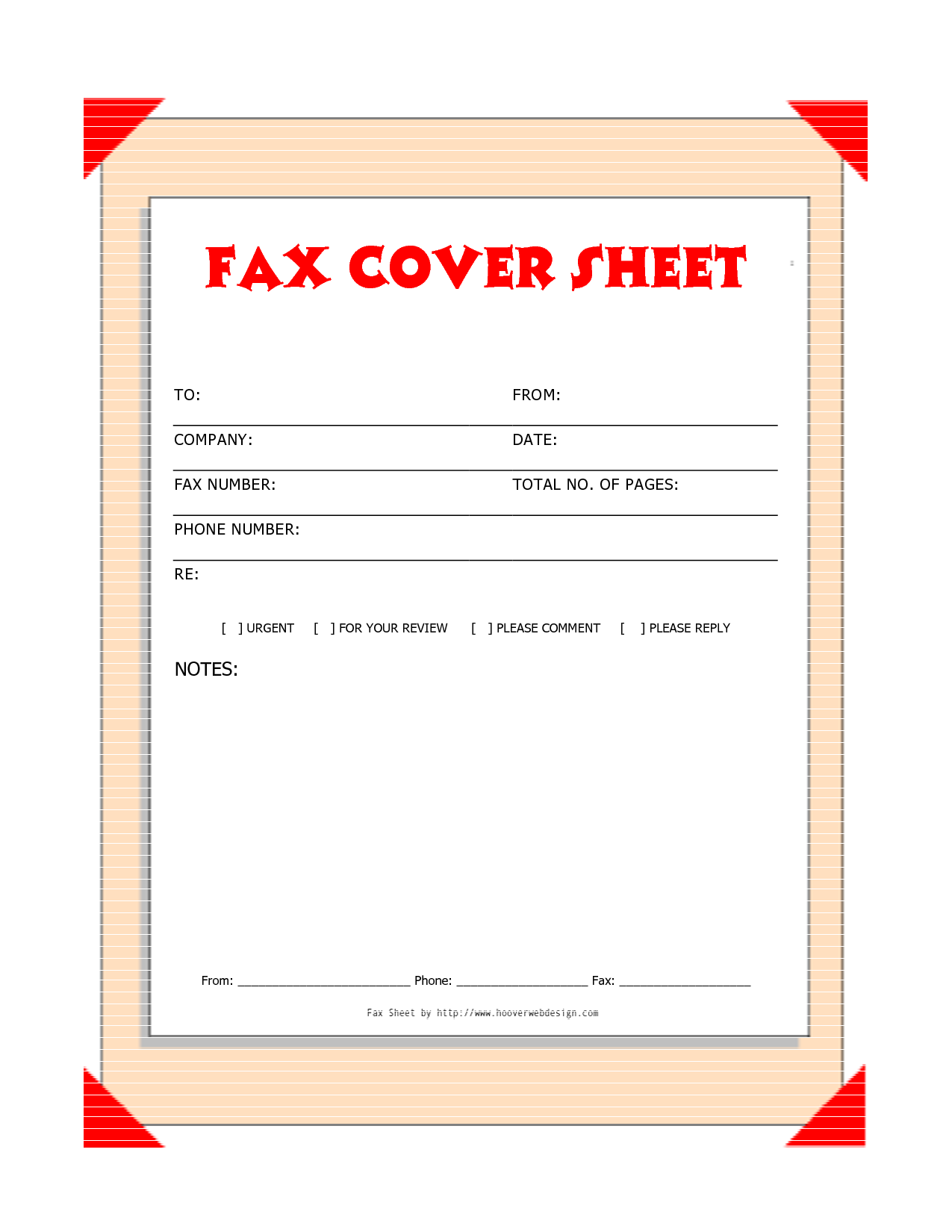 cover page template images fax cover sheet printable fax cover sheet template