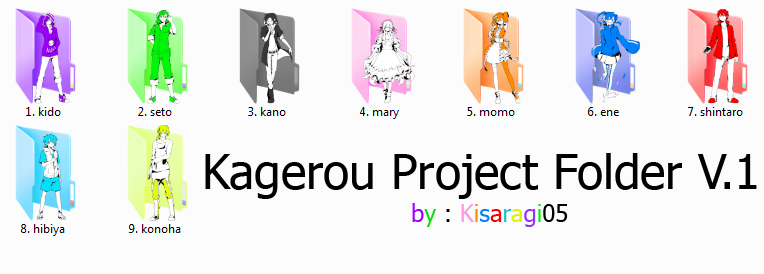 11 Kagerou Project Icons Images