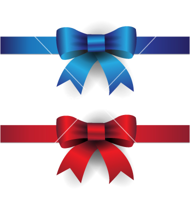 17 blue ribbon and bow vector images blue ribbon bow vector blue