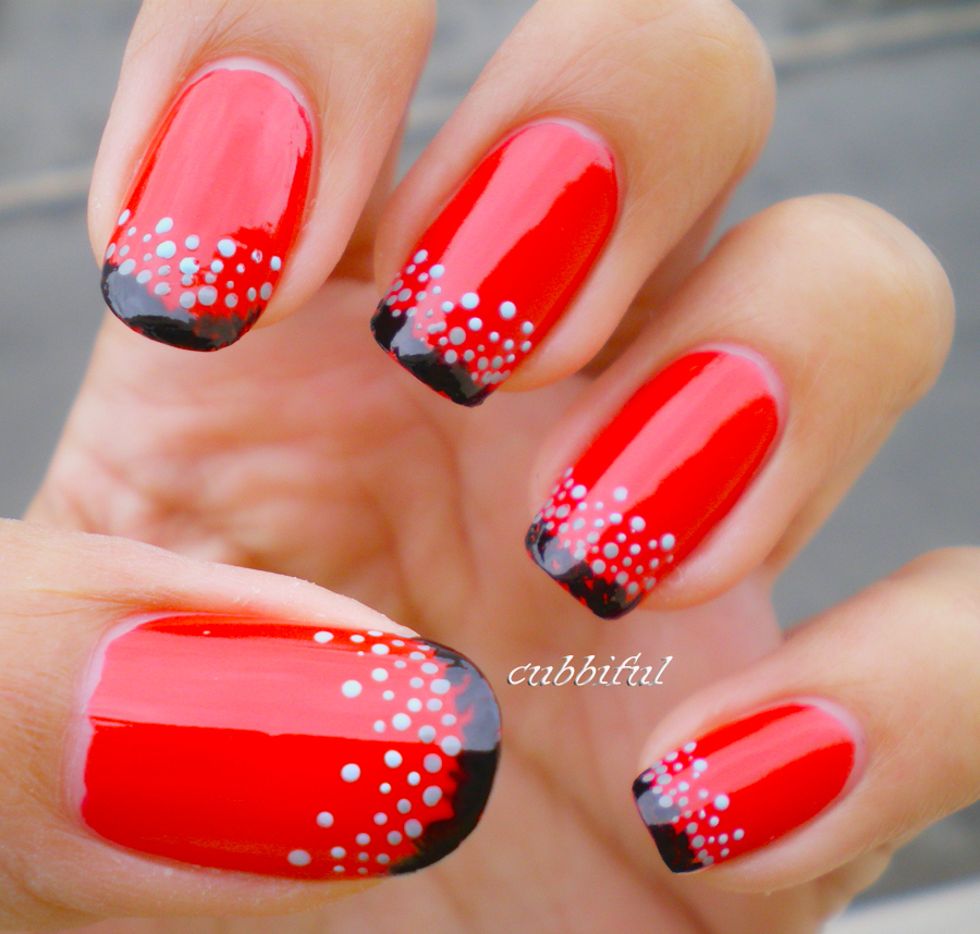 12 Red Nail Art Designs Images
