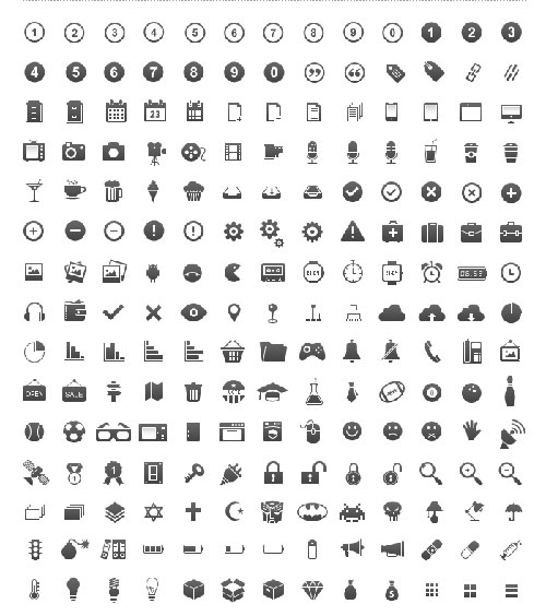 11 resume icon set images