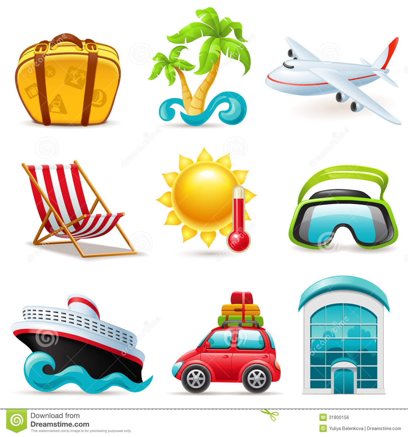 Royalty Free Travel Icons