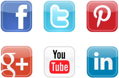 Social Media Icons Email