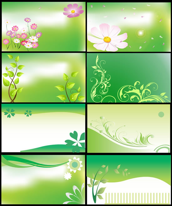 Spring Flowers Background Designs