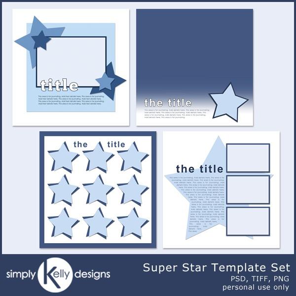 Super Star Award Template