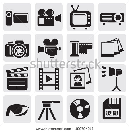 12 Live Feed Technology Icon Vector Art Images