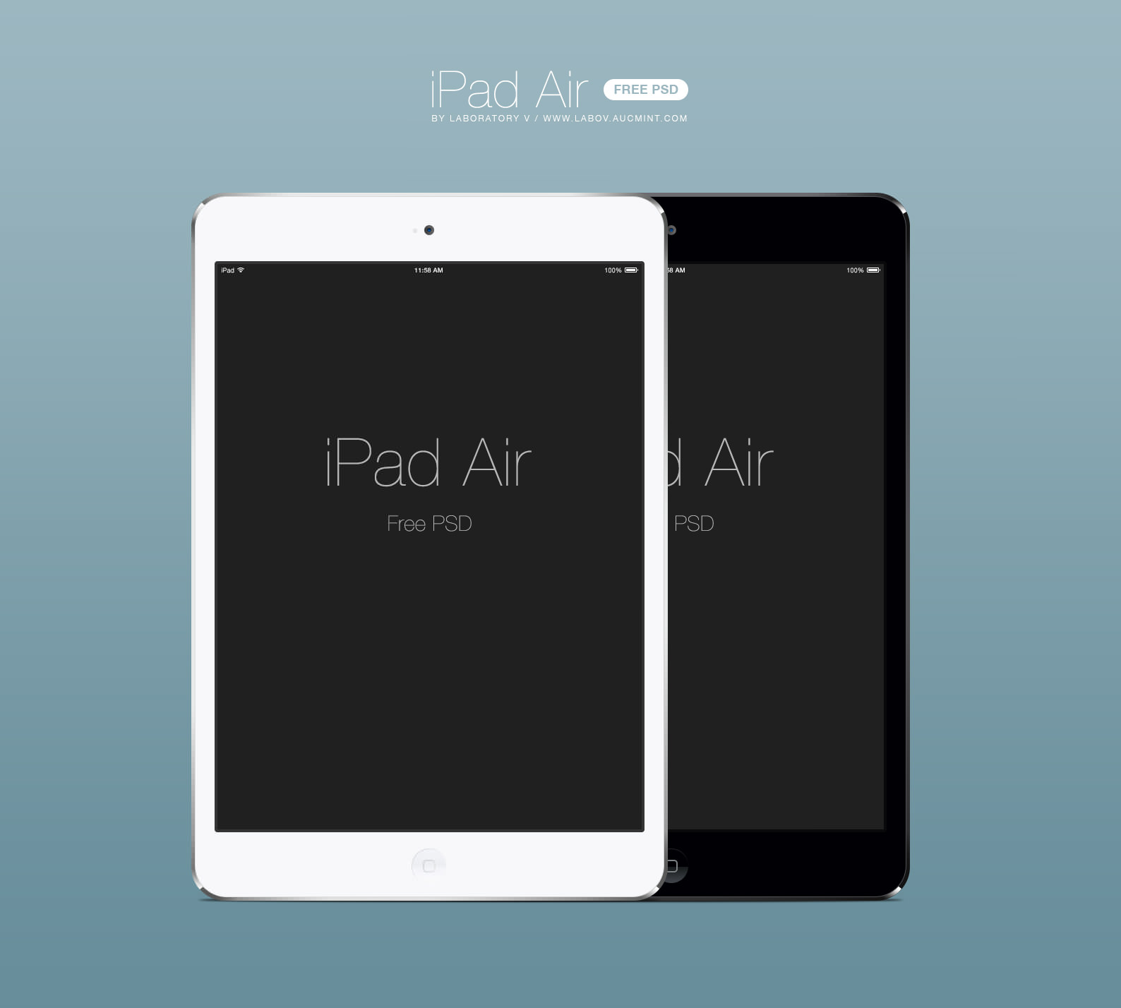 Template iPad Air