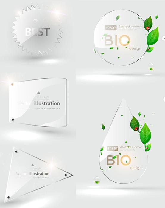 Transparent Vector Shapes
