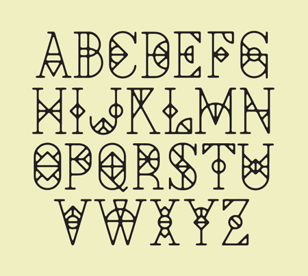 Tumblr Cool Fonts Alphabet