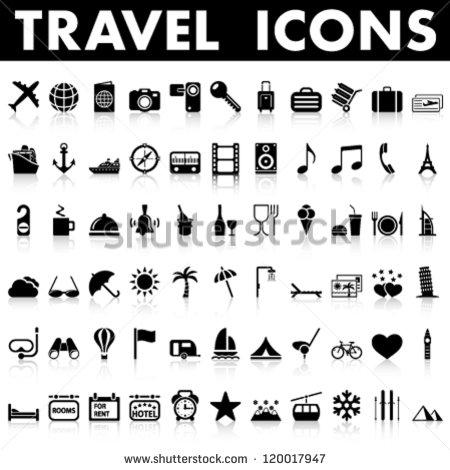 Universal Travel Symbols