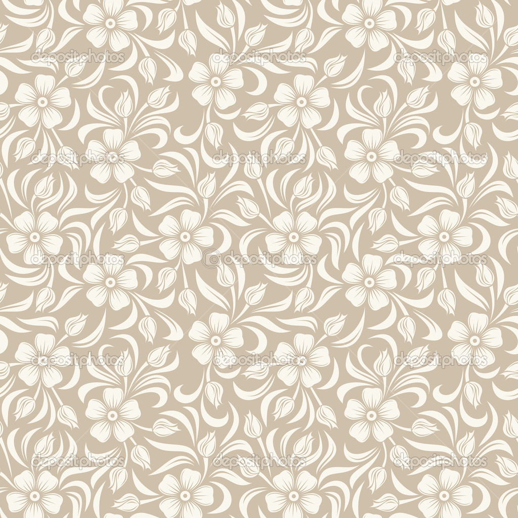 16 Vector Vintage Patterns Images - Vintage Flower Vector ...