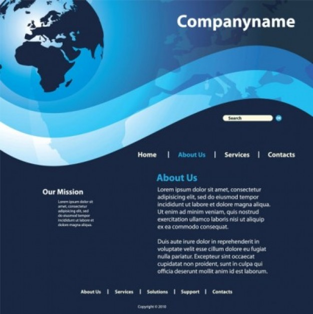 Website Design Templates Free Download