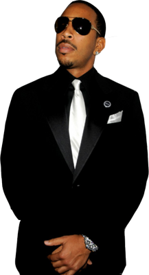 White Man in Black Suit PSD