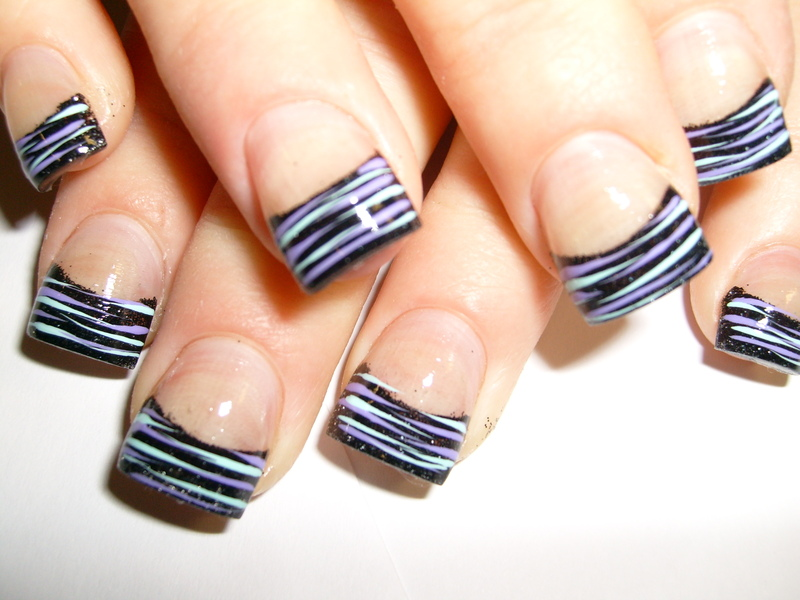 13 Cute Zebra Nail Designs Images