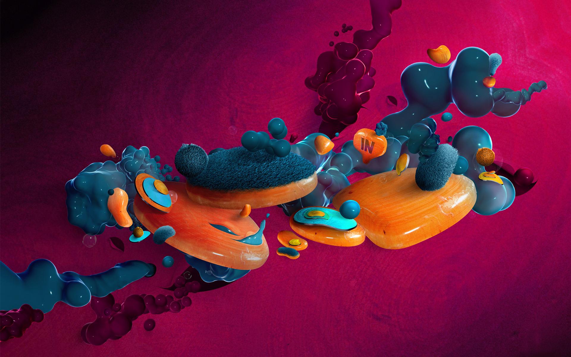 14 3d Graphic Design Desktop Wallpaper Images 3d Colorful Graphic
