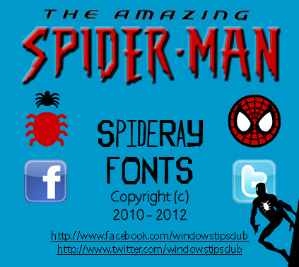 14 The Amazing Spider-Man Font Images