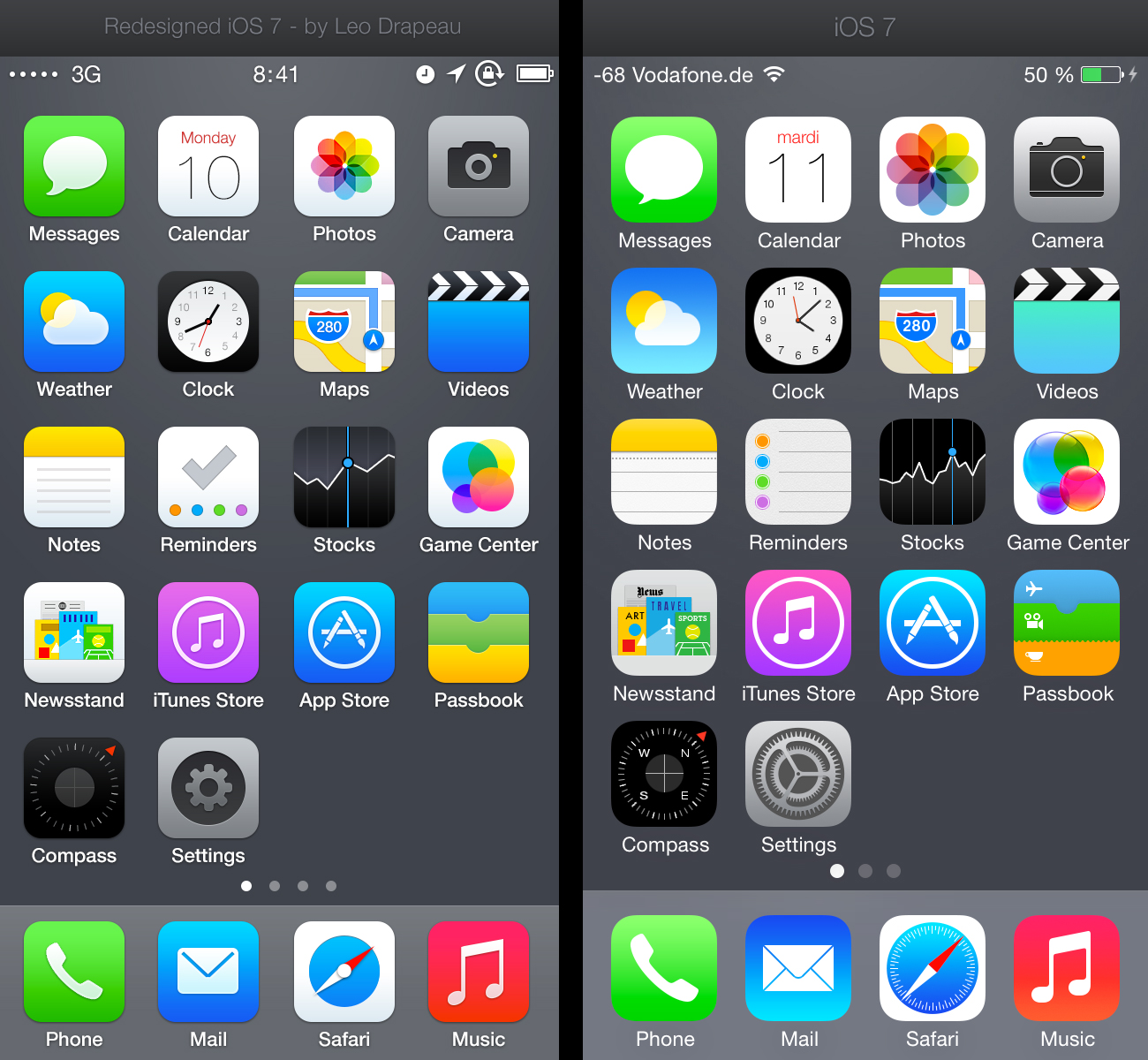 Apple iPhone App Icons