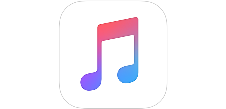 Apple iPhone Music Icon