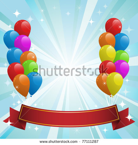Balloon Art Images Happy Birthday Cards