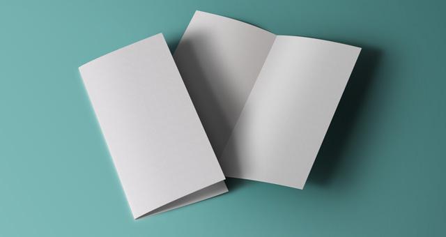 Bi Fold Brochure Mock Up Psd