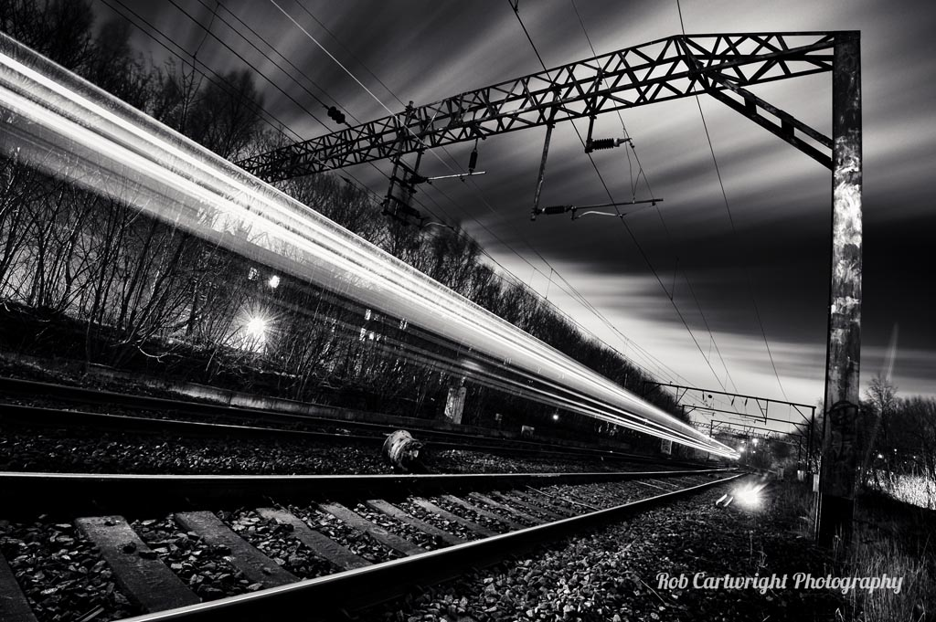 Black and White Photography Slow Shutter