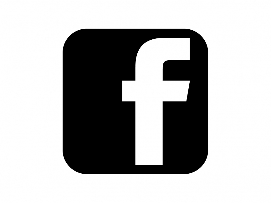 18 black facebook icon images facebook icon black circle