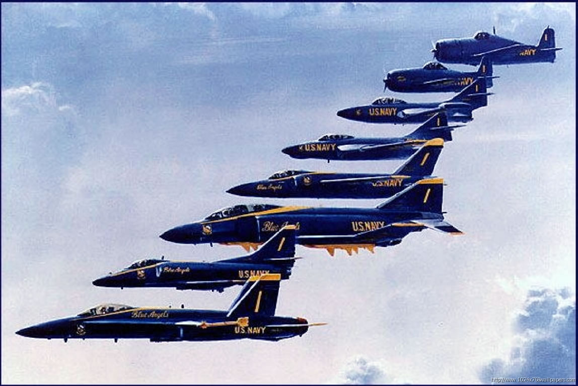 Blue Angels Aircraft History