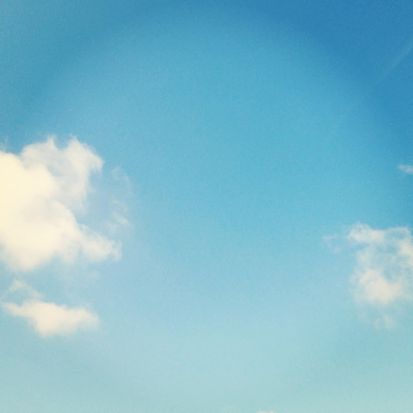 Blue Sky Instagram