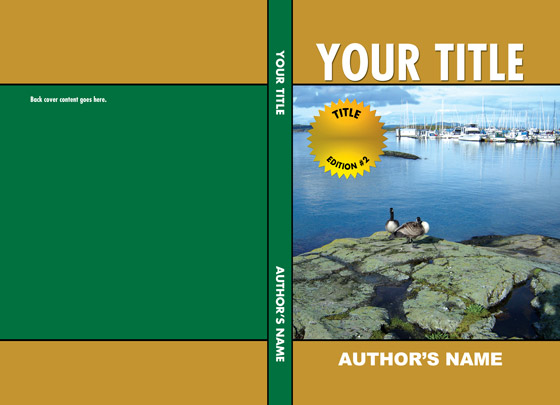 Book Cover Template Download