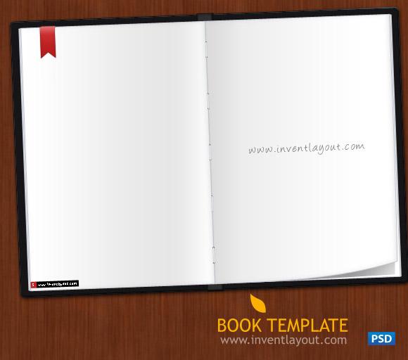 Book PSD Template
