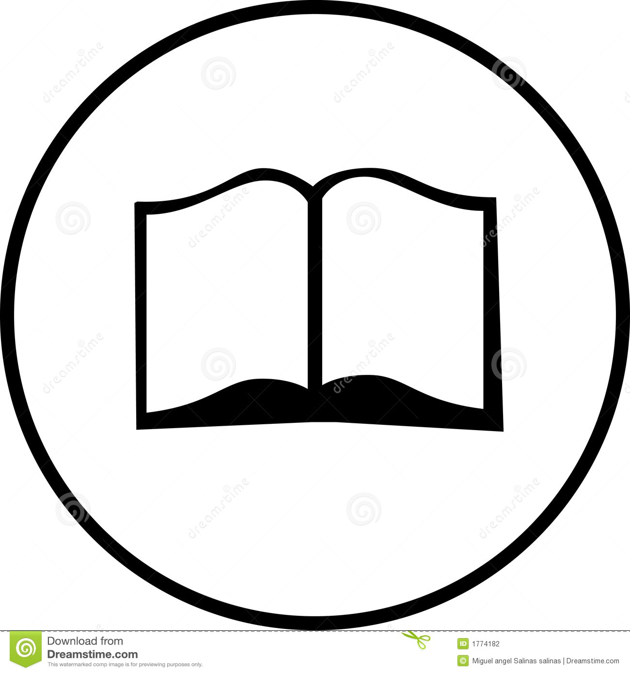 10 Open Book Icon Vector Images