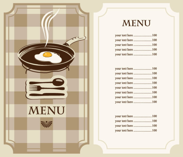 Doc464600 Restaurant Menu Template Word Restaurant Menu – Free Food Menu Template