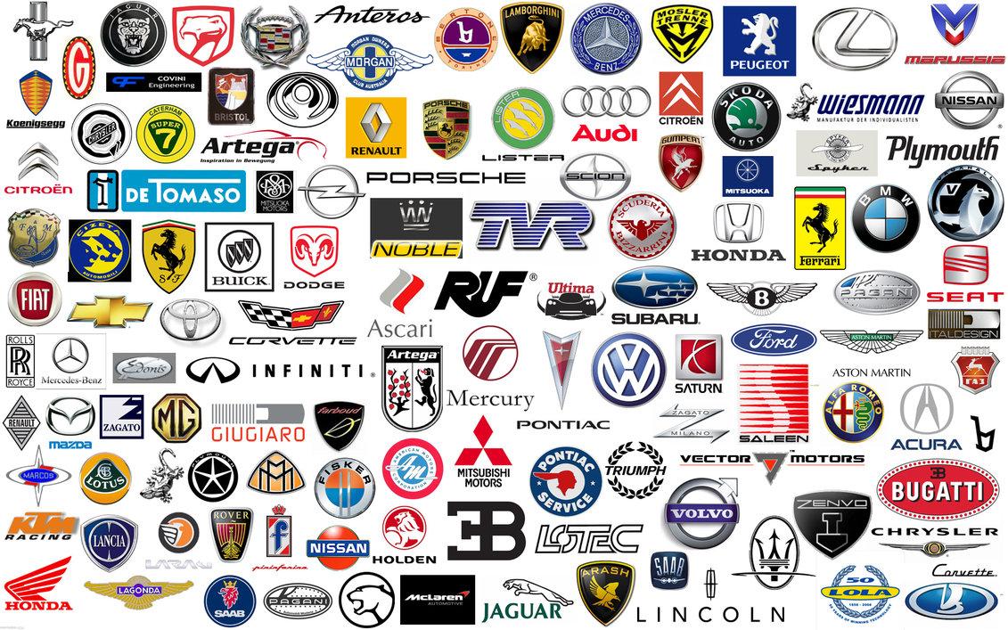 Car Company Logos with Names
