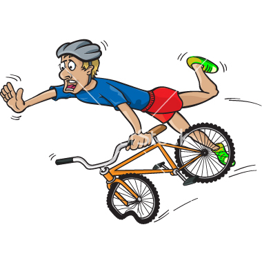 10 Bike Accident Free Vector Graphics Images