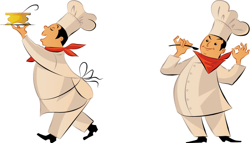 15 Chef Vector Art Images