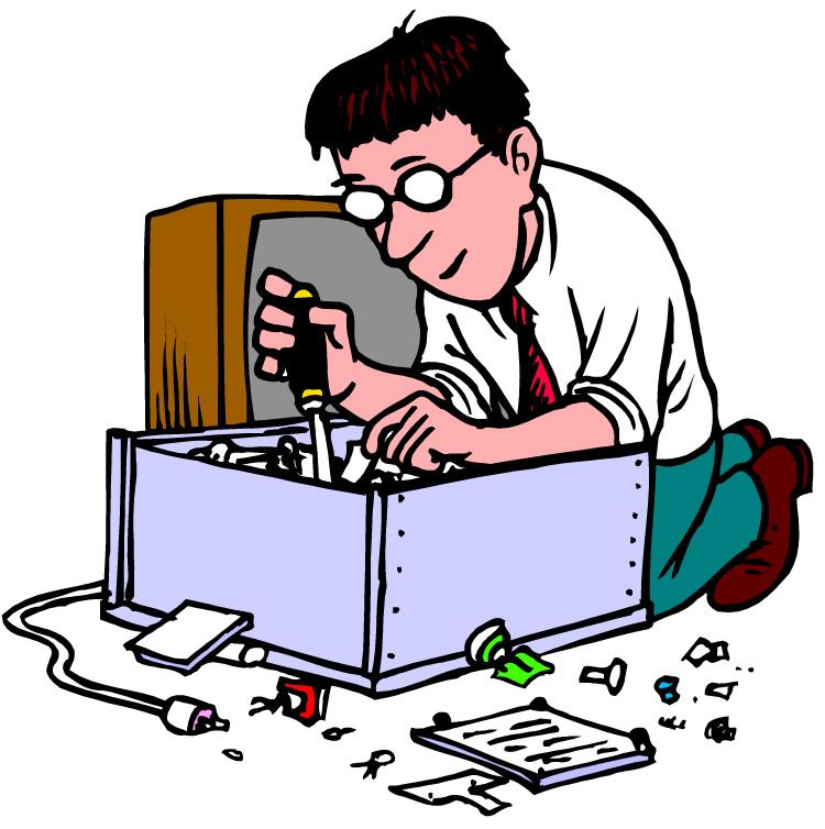 Computer Repair Clip Art