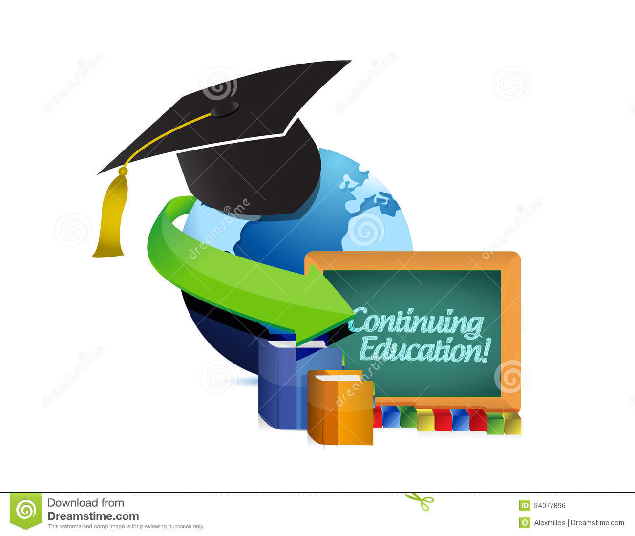 Continuing Education Clip Art