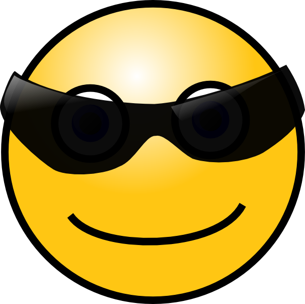 Cool Smiley Face Clip Art
