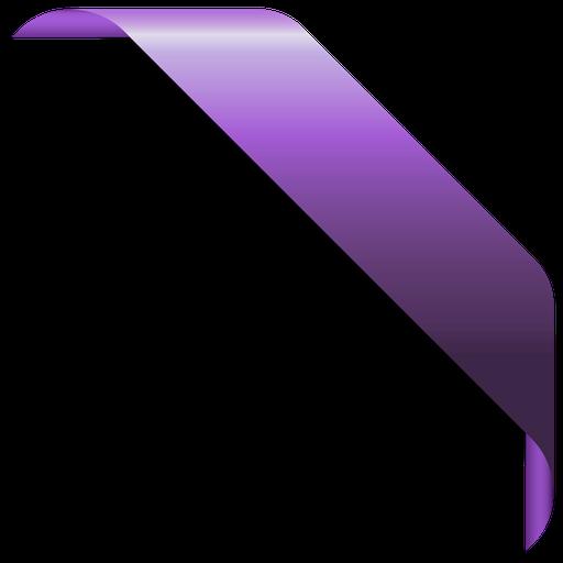 Corner Ribbon Banner Vector