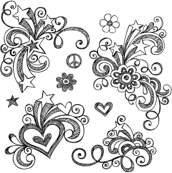 Cute Flower Designs to Draw