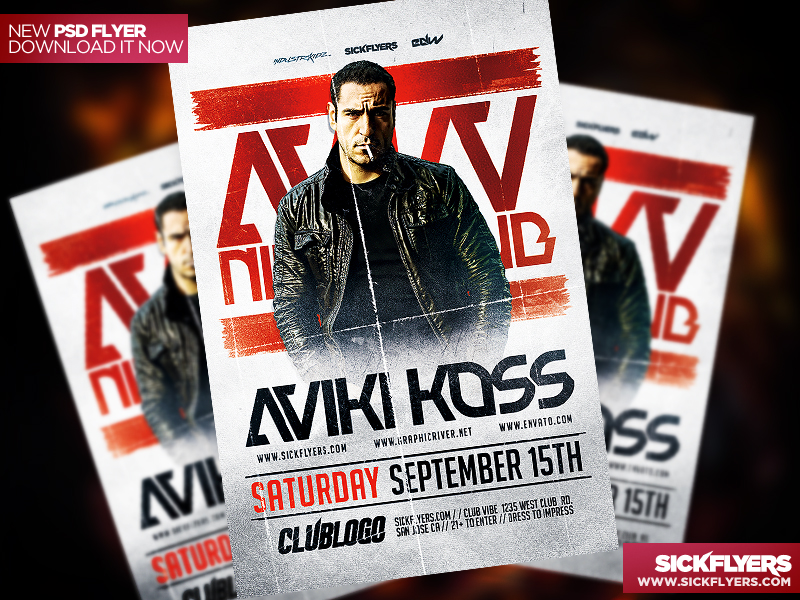 DJ Flyer Templates Free Download