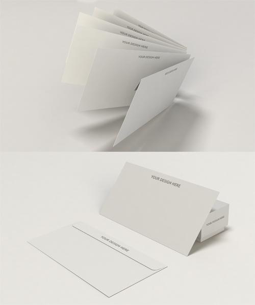 Envelope Mock Up Template