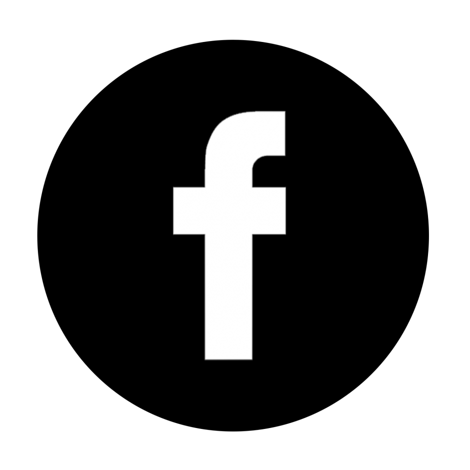 18 Black Facebook Icon Images