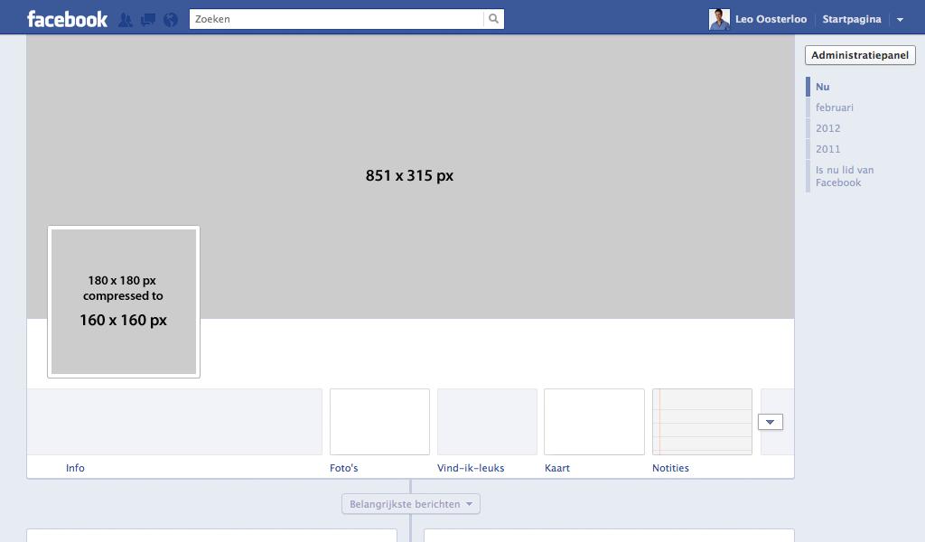 16 Facebook Timeline Template PSD Images