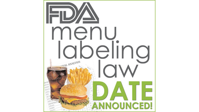 FDA Menu Labeling Requirements
