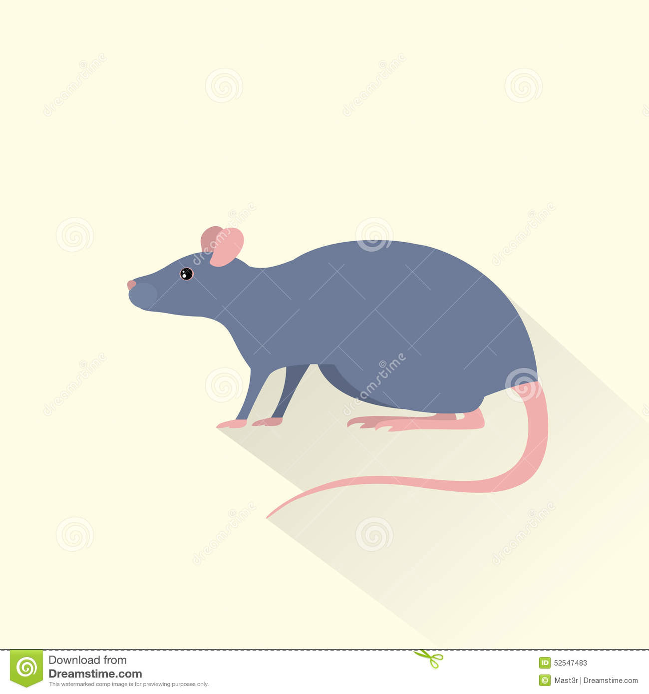 Flat Click Mouse Icon